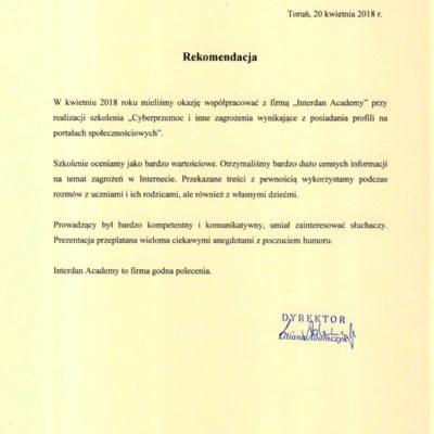 Zespół Szkół Ekonomicznych w Toruniu