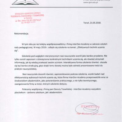 Medyczno-Społeczne Centrum Kształcenia Zawodowego i Ustawicznego w Toruniu