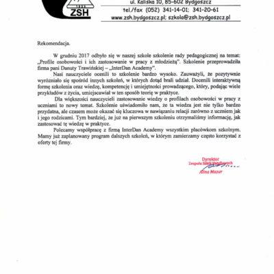 Zespół Szkół Handlowych w Bydgoszczy