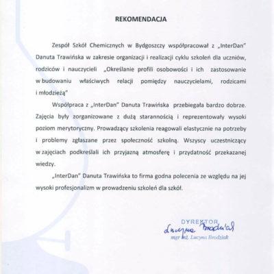 Zespół Szkół Chemicznych w Bydgoszczy