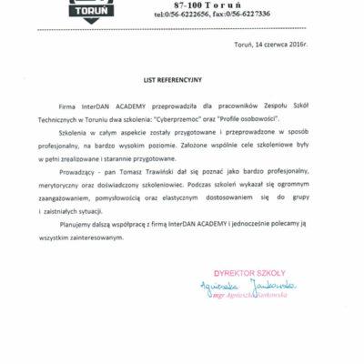 Zespół Szkół Technicznych w Toruniu